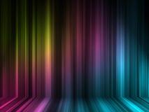 effekt för färg 3d lines många Arkivbilder