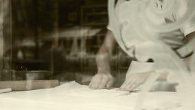 Effekt för film för process för danande för degrulle-stift strudel gammal lager videofilmer
