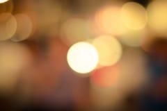 effekt för 50mm bakgrundsblur aktiverar sidan för nattnikkordeltagaren Royaltyfria Foton