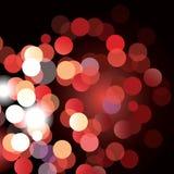effekt för 50mm bakgrundsblur aktiverar sidan för nattnikkordeltagaren Royaltyfri Bild