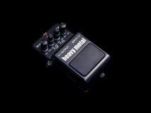 Effekt-Gitarren-Pedal, Schwermetall Lizenzfreie Stockfotografie