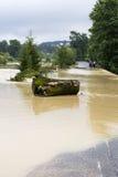 Effekter av översvämningen Royaltyfria Bilder