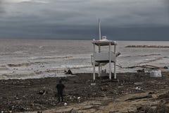 Effekter av stormen fotografering för bildbyråer
