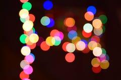effekter för ljus för abstrakt bokehbakgrund färgrika stock illustrationer