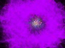 Effekter för suddighet för lilatexturbakgrund Arkivbilder