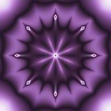 Effektfractal för lilor 3d Fotografering för Bildbyråer