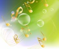 effektiv musikal för bakgrund stock illustrationer