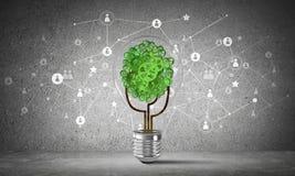 Effektiva innovationer för världsekologi Royaltyfri Foto