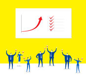 Effektive Teams Stockbilder