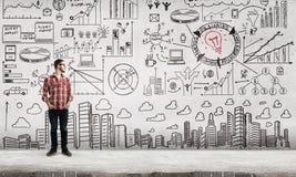 Effektive Unternehmensplanung Stockbilder