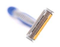 Effektivt område av att raka rakkniven. Fotografering för Bildbyråer