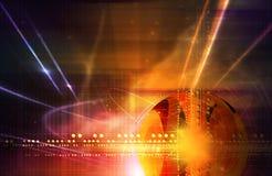 effektlampa vektor illustrationer