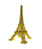 Effel tower is isolated on a white background Stock Images