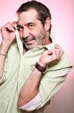 Effeminate Man Portrait Stock Photo