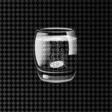 Effervescent pills in a glass of water. Vector illustration. Effervescent pills in a glass of water on a transparent background. Vector illustration Stock Photography