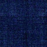 Effet bleu de mosaïque sur le fond noir Photographie stock