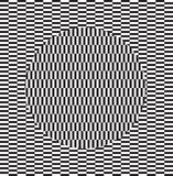 Effet d'illusion optique Tuile géométrique dans le style d'art de bruit de menfis Fond trompeur de vecteur, texture Élément futur illustration libre de droits