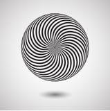 Effet d'illusion optique Tuile géométrique dans le style d'art de bruit de menfis Fond trompeur de vecteur, texture illustration stock