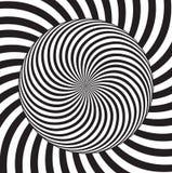 Effet d'illusion optique Tuile géométrique dans le style d'art de menfis de bruit Fond trompeur de vecteur, texture Élément futur illustration stock