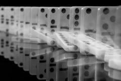 Effet de domino Photographie stock