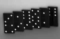 Effet de domino et jeu Photographie stock