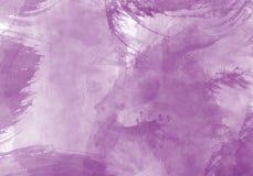 Effet de graphique de course de brosse de couleur d'eau illustration stock