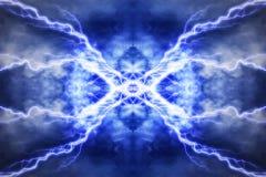Effet de la lumière électrique, milieux abstraits de techno illustration libre de droits