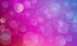 Effet de la lumière abstrait de bokeh avec le fond pourpre rose, texture de bokeh, fond de bokeh, illustration de vecteur illustration stock