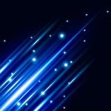 Effet de la lumière bleu de résumé avec le fond lumineux de vecteur d'éclat illustration libre de droits