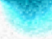 Effet de la lumière de fond bleu Photographie stock