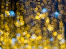 Effet de la lumière multicolore abstrait de bokeh Photo libre de droits