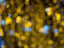 Effet de la lumière multicolore abstrait de bokeh Images libres de droits