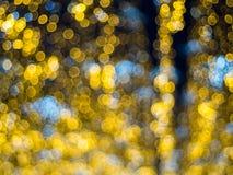 Effet de la lumière multicolore abstrait de bokeh Photos libres de droits