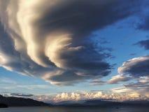 Effet de nuage Photos stock