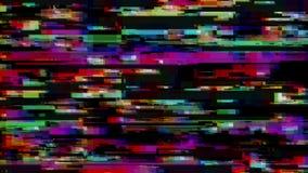 Effet de probl?me Erreur d'?cran d'ordinateur Vid?o d'erreurs Bruit abstrait de pixel de Digital ?chouer de signal de TV Fond de  illustration libre de droits