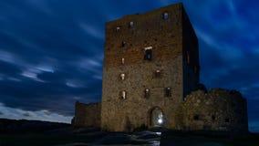 Effet fantasmagorique de Hammershus Photos stock