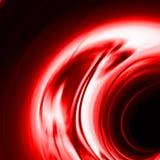 Effet rouge de cascade à écriture ligne par ligne ou de smaragd Photographie stock