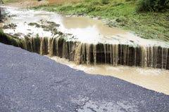 Effets de l'inondation photographie stock