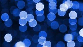 Effets de la lumière bleus banque de vidéos