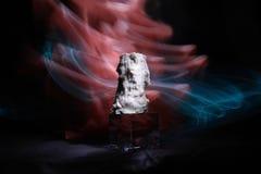 Effets de la lumière de wjth magique de cundle photos stock