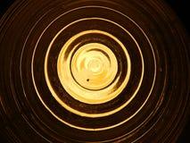 Effets de la lumière de luminescence, lampe à lueur photos libres de droits