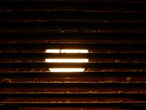 Effets de la lumière de luminescence, lampe à lueur image stock