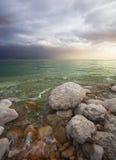 Effets de la lumière un orage photo libre de droits