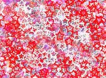 Effets en hausse de tache floue de fond d'étoiles Photo libre de droits