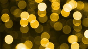Effetti della luce gialla stock footage