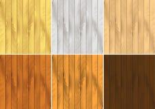 Effetti di legno del granulo di vettore illustrazione di stock