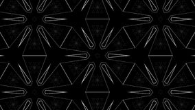 Effetti di moto del tunnel con Diamond Structures Fotografia Stock Libera da Diritti