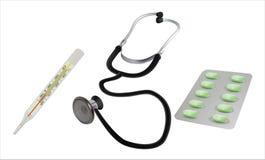 Effetti personali medici Immagini Stock