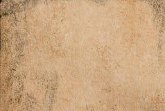 Effetto antico di carta dell'oro Fotografia Stock