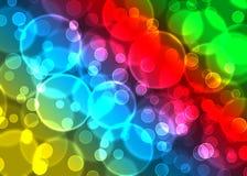 Effetto astratto del bokeh Bokeh colourful moderno Fotografie Stock